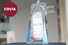 20 year dedicated service award costa