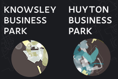 Knowsley & Huyton Business park signage