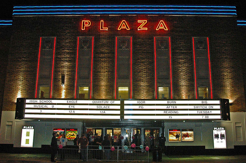 Plaza Cinema Signage Waterloo