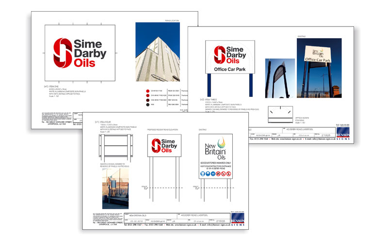 Sime Darby Oils Approved Drawings