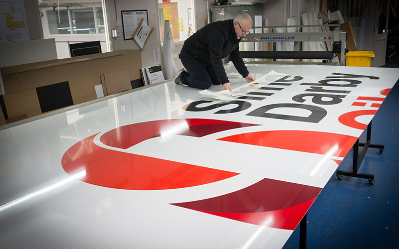 Sime Darby Oils Sign Panels At Benson Signs