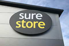 Benson signs manufacture sure store signage