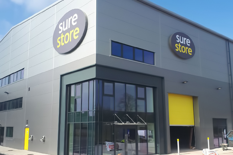 Cannock sure store signage