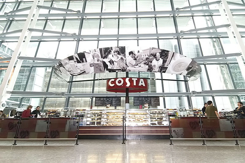 Costa heathrow t5 sculpture