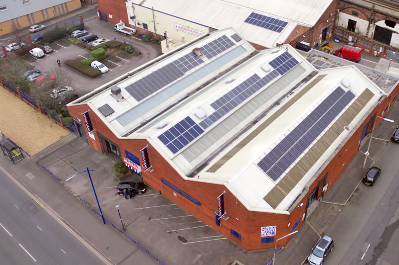 Solar Pv At Benson Signs