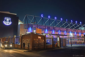 Everton Sign Makers Goodison Letters